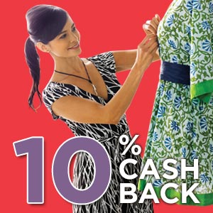 10% Cash Back Rebate